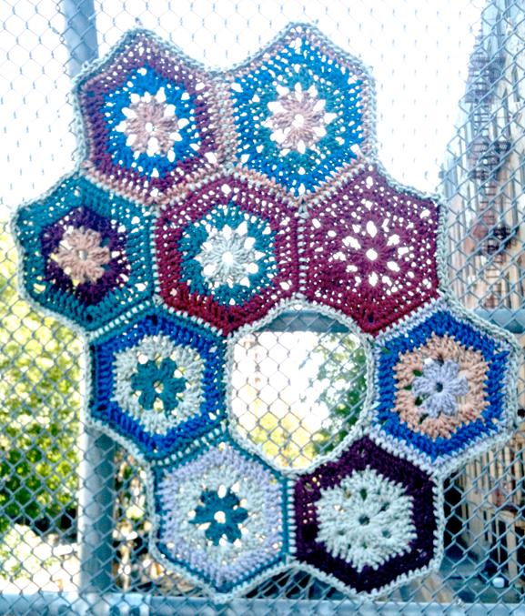 Knitting Graffiti Rocky : Street art knit graffiti prospect heights brooklyn